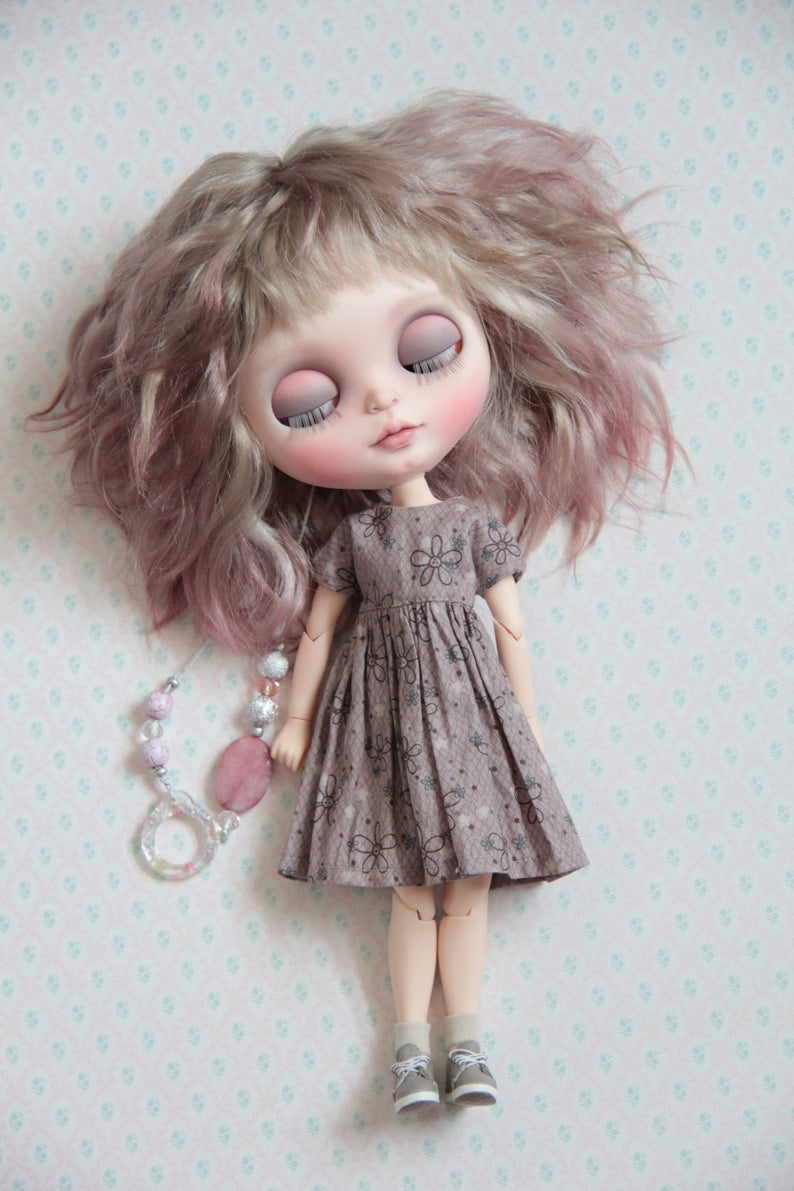 Albertine - Custom Blythe Doll One-Of-A-Kind OOAK Sold-out Custom Blythes