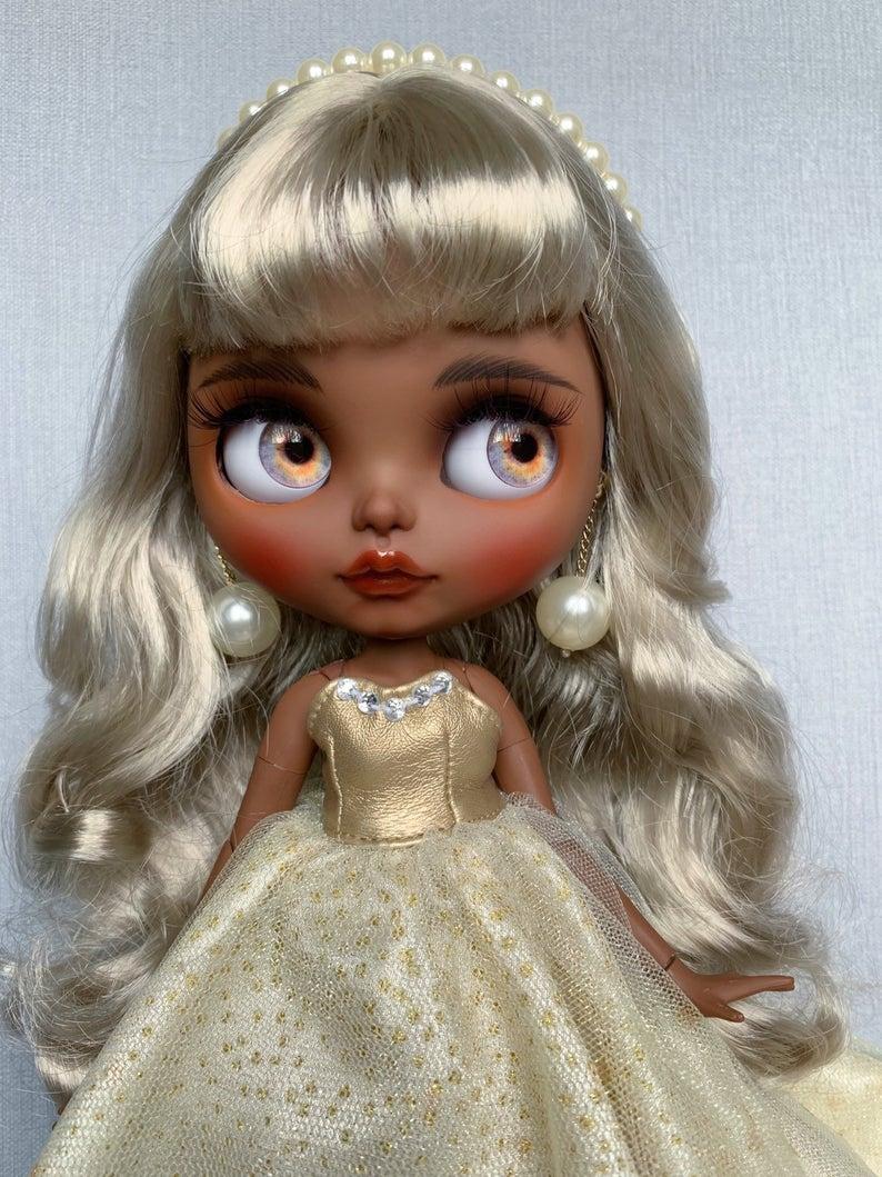 Euphemia - Custom Blythe Doll One-Of-A-Kind OOAK Sold-out Custom Blythes