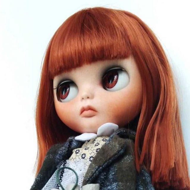 Diana – Custom Blythe Doll One-Of-A-Kind OOAK
