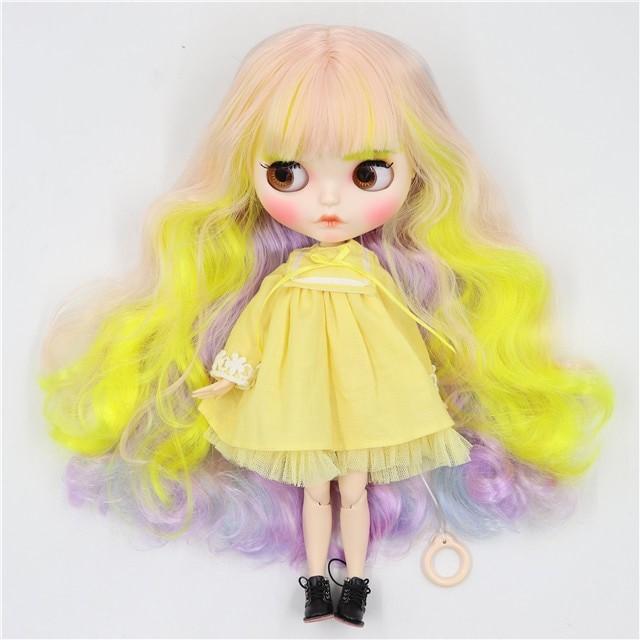 Ximena – Premium Custom Blythe Doll with Clothes Pouty Face Pouty Face Premium Blythe Dolls 🆕