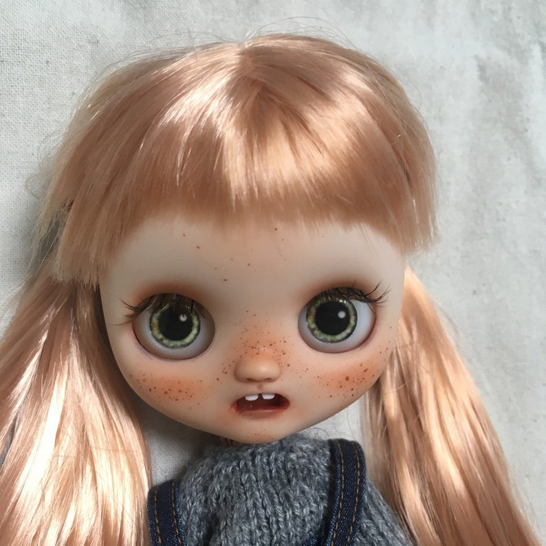 Beatrix - Custom Blythe Doll One-Of-A-Kind OOAK Sold-out Custom Blythes