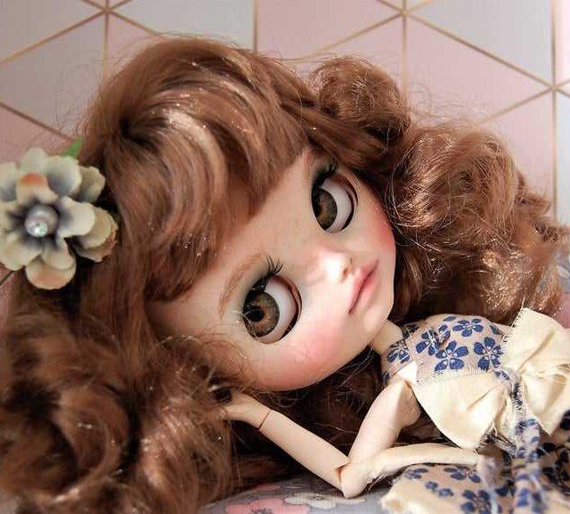 Penny – Custom Blythe Doll One-Of-A-Kind OOAK