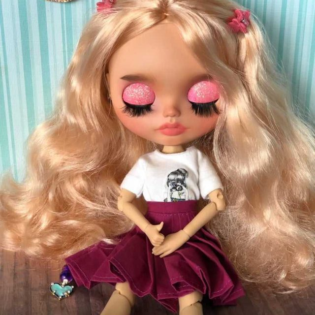 Lotta – Custom Blythe Doll One-Of-A-Kind OOAK