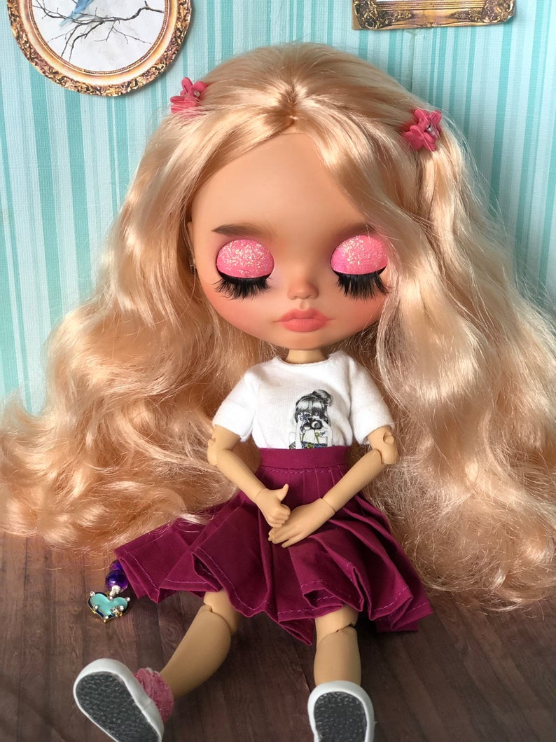 Lotta - Custom Blythe Doll One-Of-A-Kind OOAK Sold-out Custom Blythes