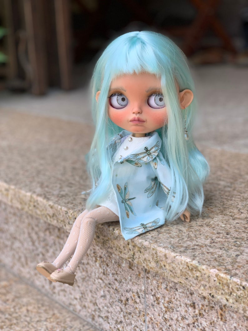Nola - Custom Blythe Doll One-Of-A-Kind OOAK Sold-out Custom Blythes