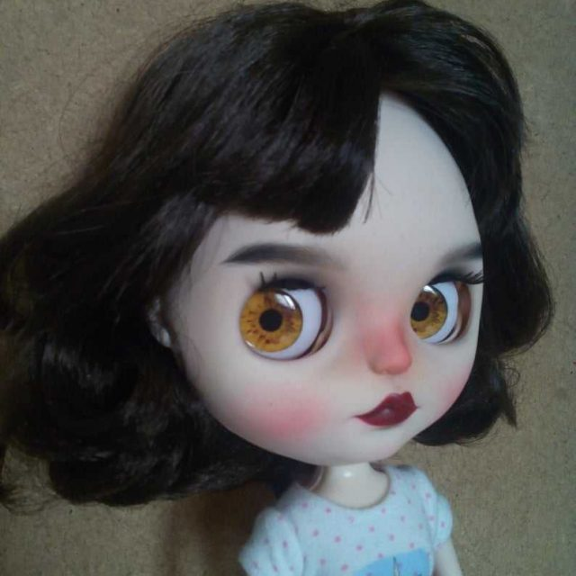 Eileen – Custom Blythe Doll One-Of-A-Kind OOAK