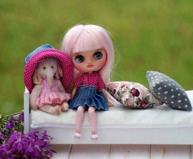 Cassandra – Custom Blythe Doll One-Of-A-Kind OOAK