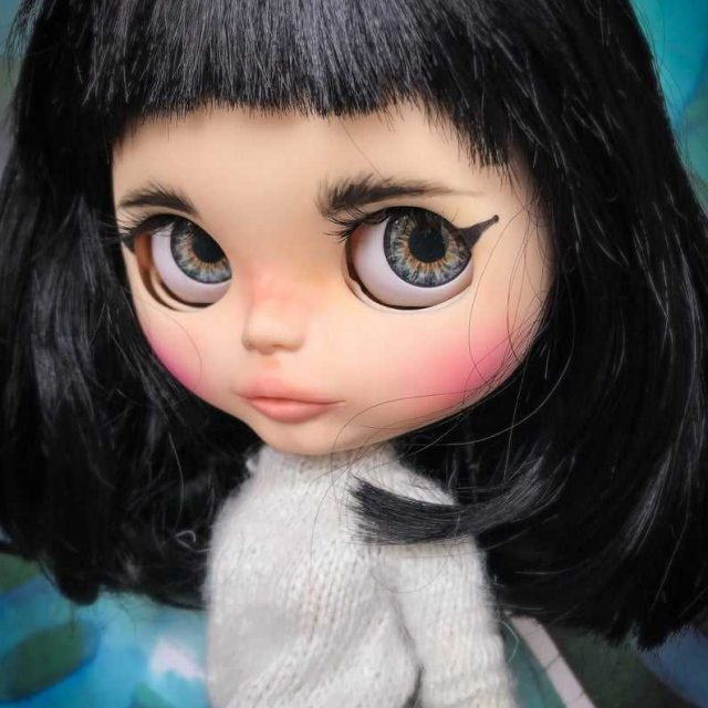 Miyu – Custom Blythe Doll One-Of-A-Kind OOAK