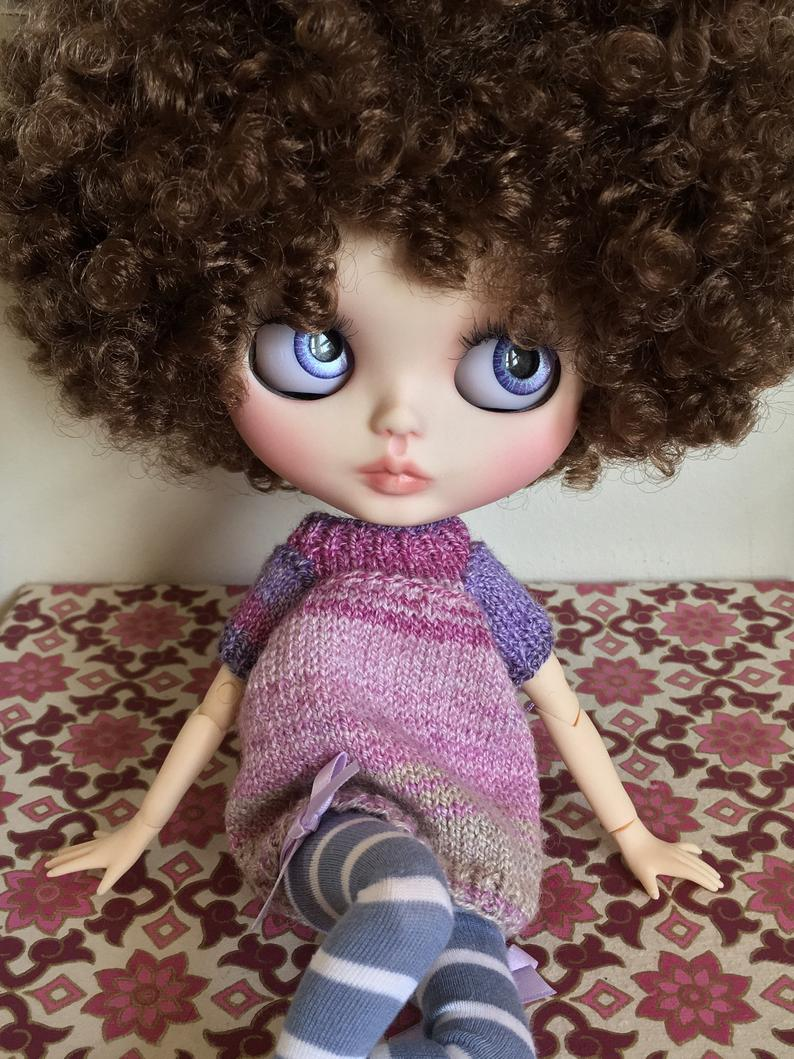 Amelie - Custom Blythe Doll One-Of-A-Kind OOAK Sold-out Custom Blythes