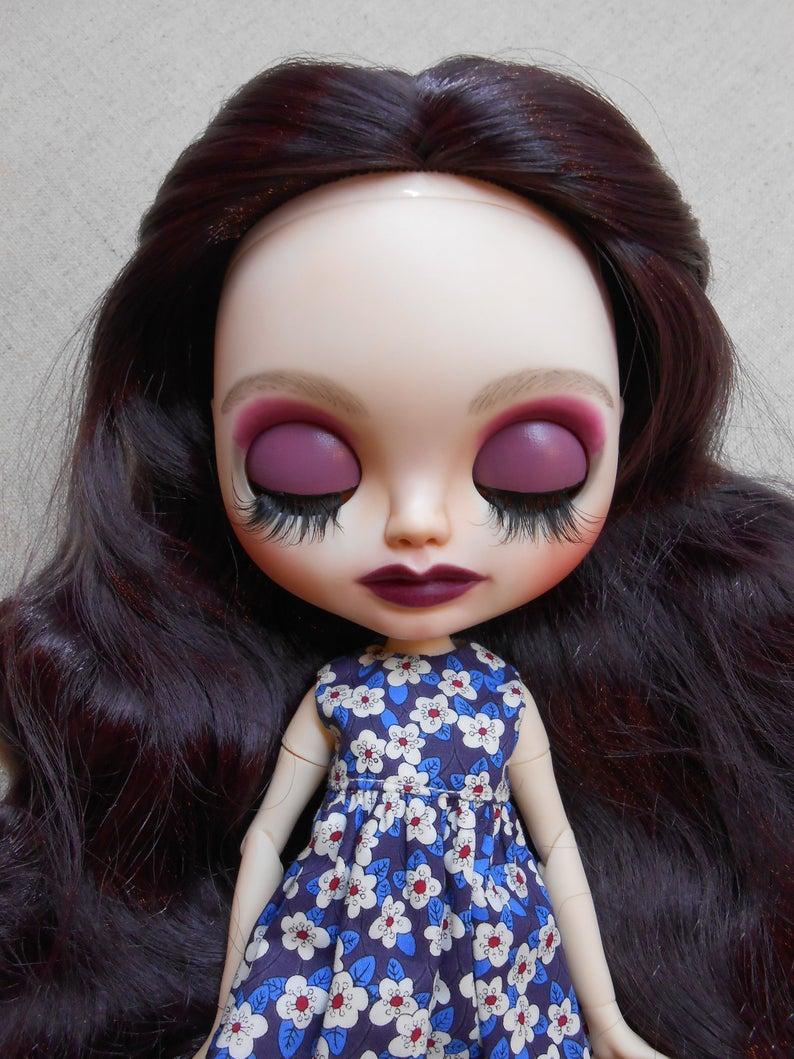 Plum - Custom Blythe Doll One-Of-A-Kind OOAK Sold-out Custom Blythes
