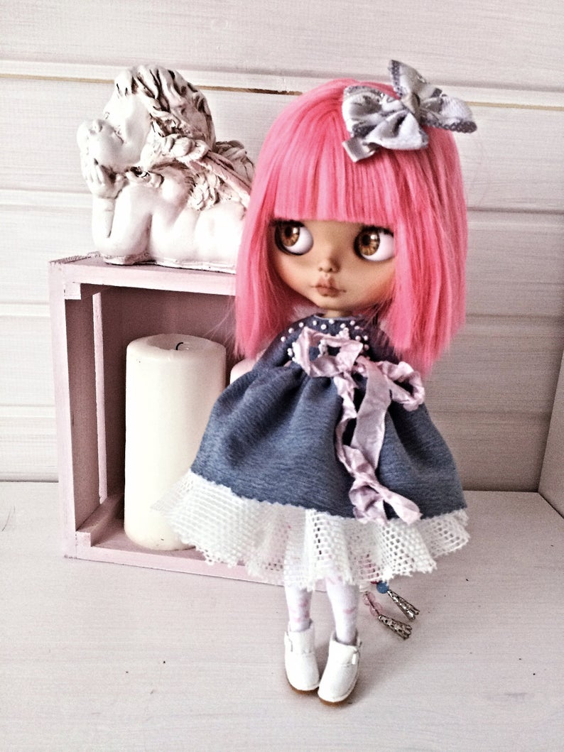 Chance - Custom Blythe Doll One-Of-A-Kind OOAK Sold-out Custom Blythes
