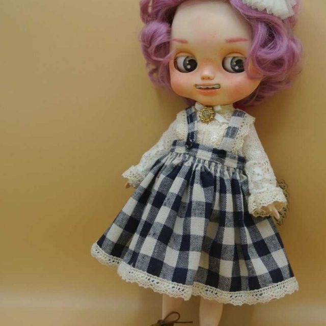 Candy – Custom Blythe Doll One-Of-A-Kind OOAK