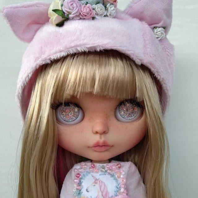 Rainbow – Custom Blythe Doll One-Of-A-Kind OOAK