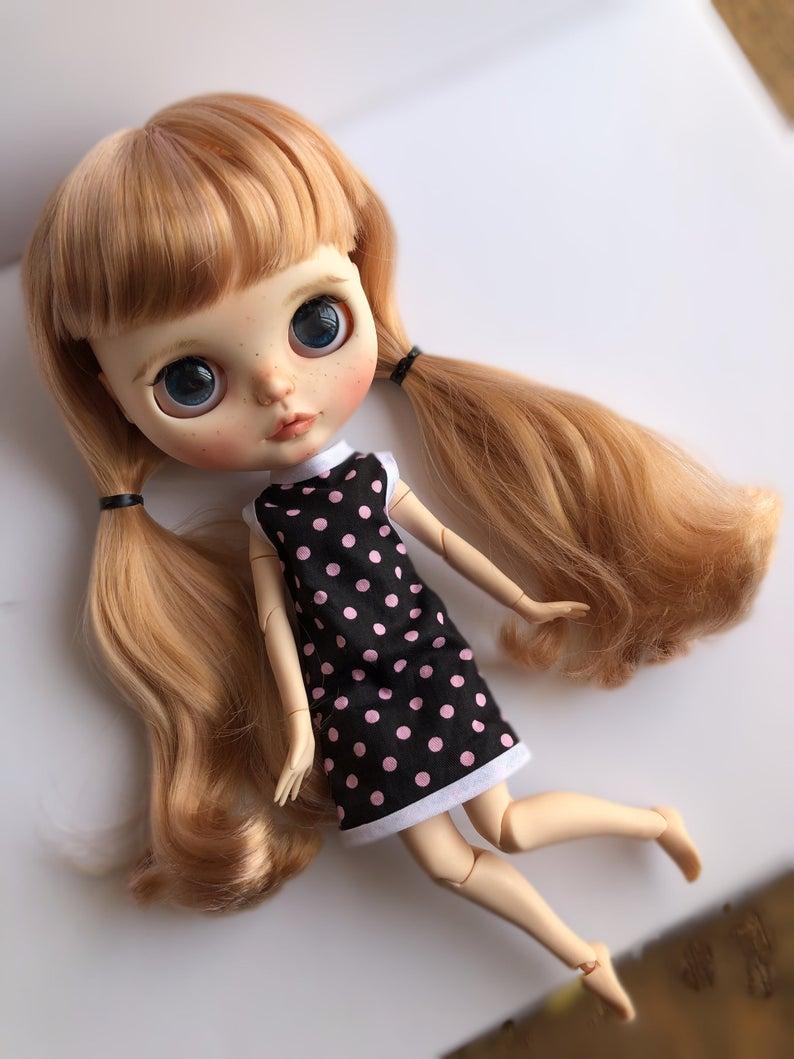 Carol - Custom Blythe Doll One-Of-A-Kind OOAK Sold-out Custom Blythes