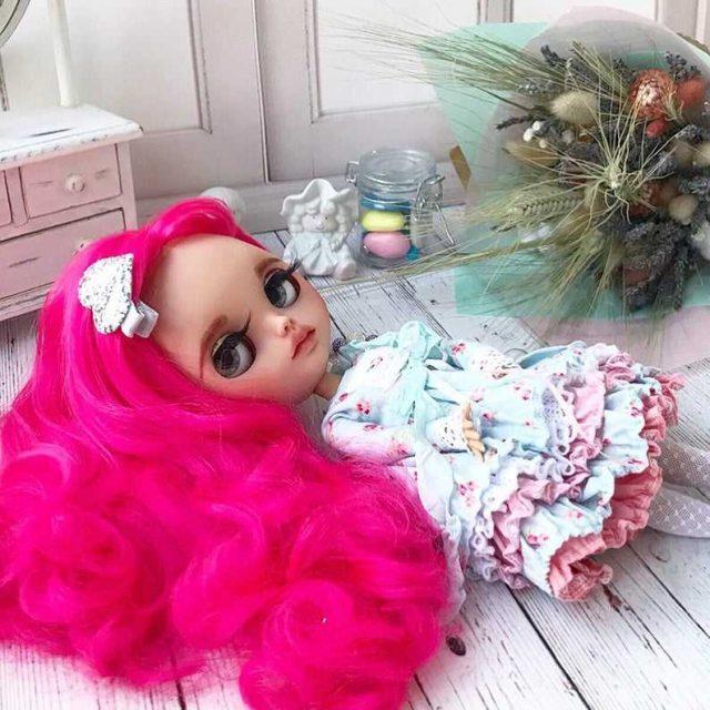 Roselinda – Custom Blythe Doll One-Of-A-Kind OOAK