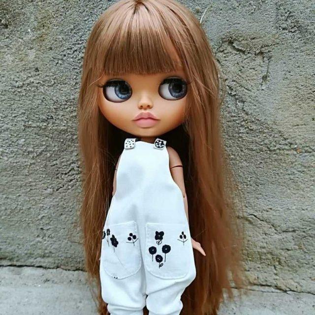 Caroline – Custom Blythe Doll One-Of-A-Kind OOAK
