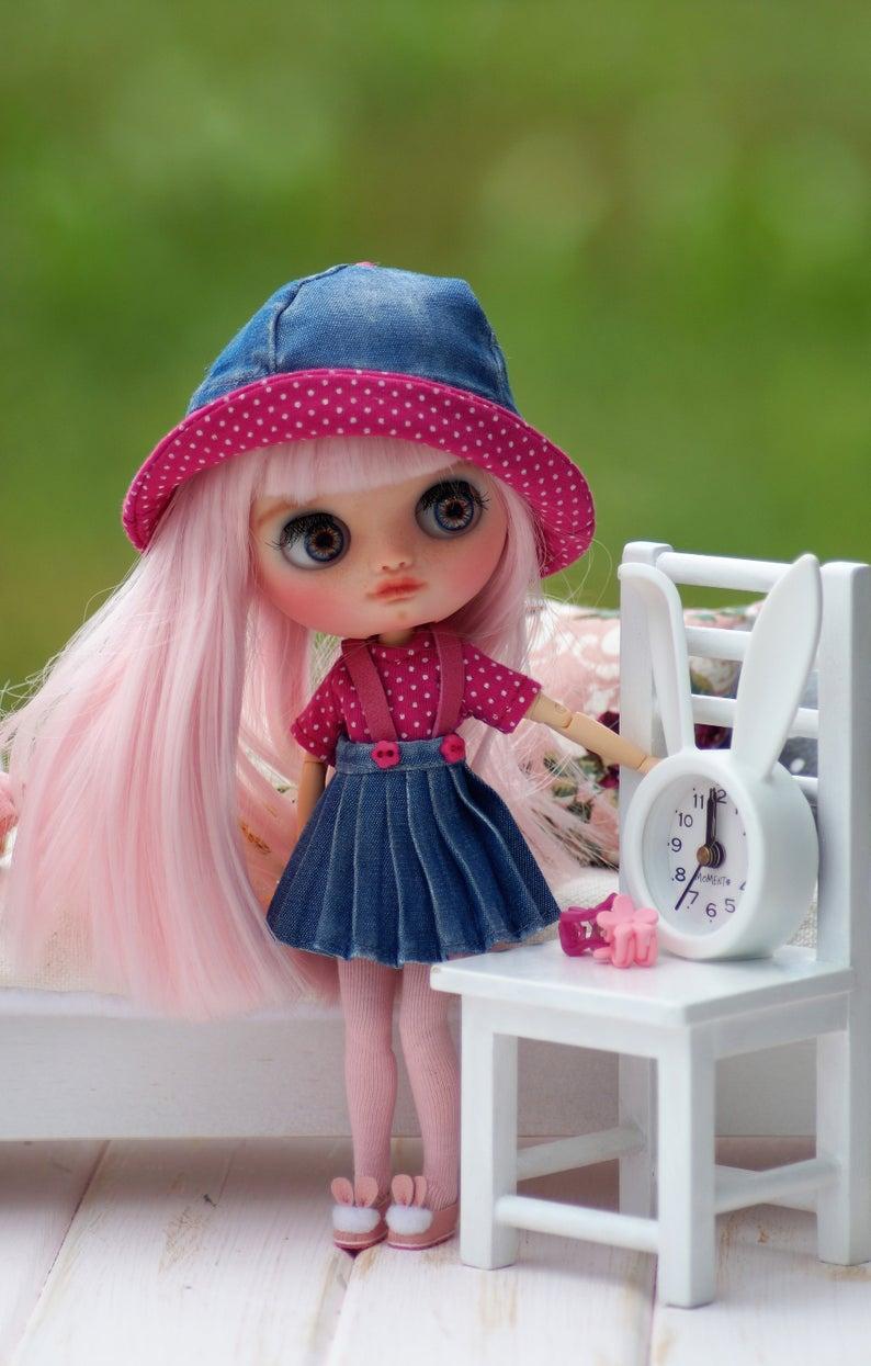 Cassandra - Custom Blythe Doll One-Of-A-Kind OOAK Sold-out Custom Blythes