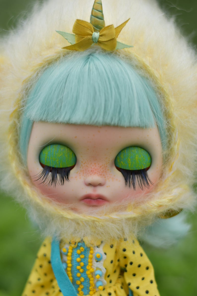 Dominica - Custom Blythe Doll One-Of-A-Kind OOAK Sold-out Custom Blythes