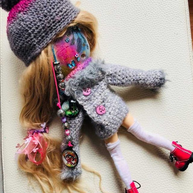 Lillian – Custom Blythe Doll One-Of-A-Kind OOAK