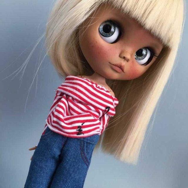 Trisha – Custom Blythe Doll One-Of-A-Kind OOAK