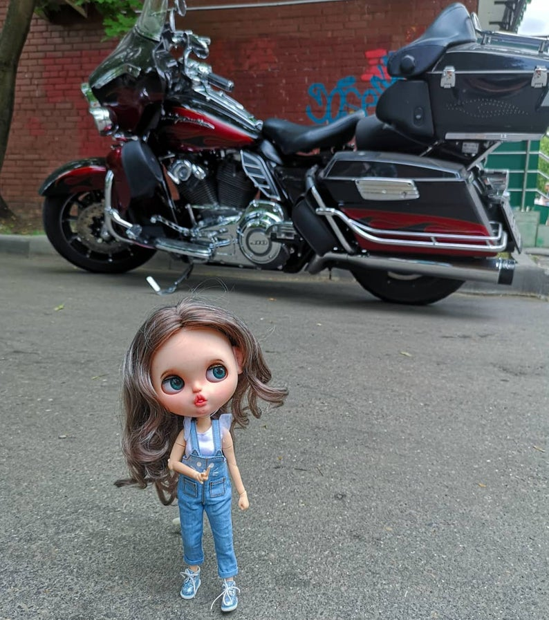 Lucy - Custom Blythe Doll One-Of-A-Kind OOAK Sold-out Custom Blythes