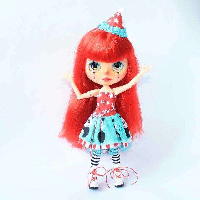 Lola – Custom Blythe Doll One-Of-A-Kind OOAK