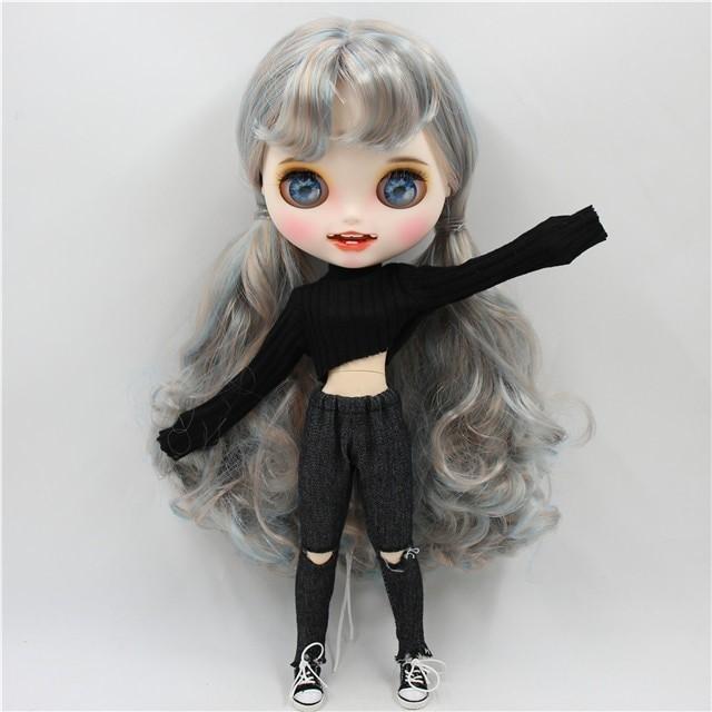 Georgiana - Premium Custom Blythe Doll with Clothes Smiling Face Premium Blythe Dolls 🆕 Smiling Face