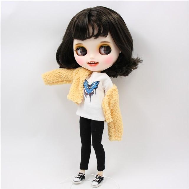 Freda - Premium Custom Blythe Doll with Clothes Smiling Face Premium Blythe Dolls 🆕 Smiling Face