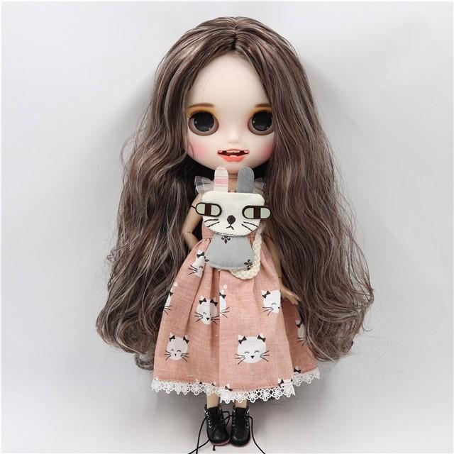 Evette - Premium Custom Blythe Doll with Clothes Smiling Face Premium Blythe Dolls 🆕 Smiling Face
