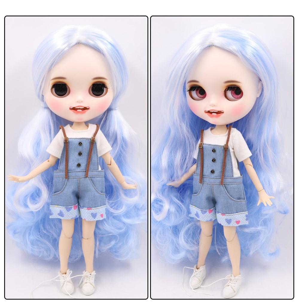 Esta - Premium Custom Blythe Doll with Clothes Smiling Face Premium Blythe Dolls 🆕 Smiling Face