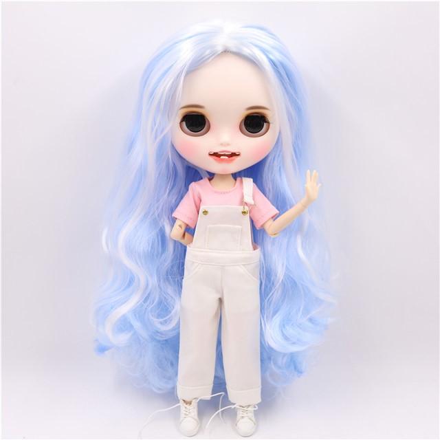 Estelle - Premium Custom Blythe Doll with Clothes Smiling Face Premium Blythe Dolls 🆕 Smiling Face