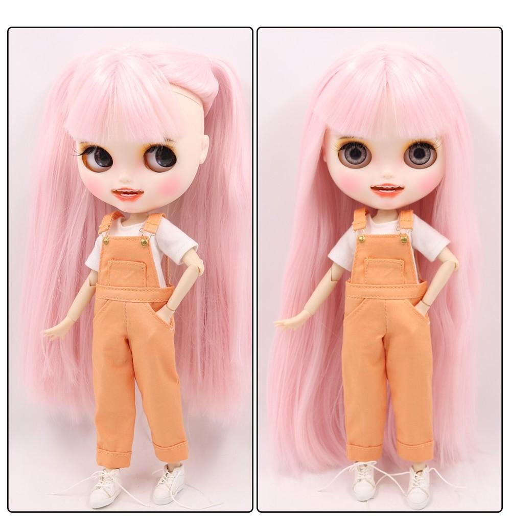 Elena - Premium Custom Blythe Doll with Clothes Smiling Face Premium Blythe Dolls 🆕 Smiling Face