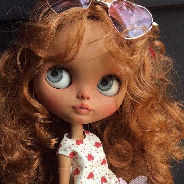 Tanaia – Custom Blythe Doll One-Of-A-Kind OOAK