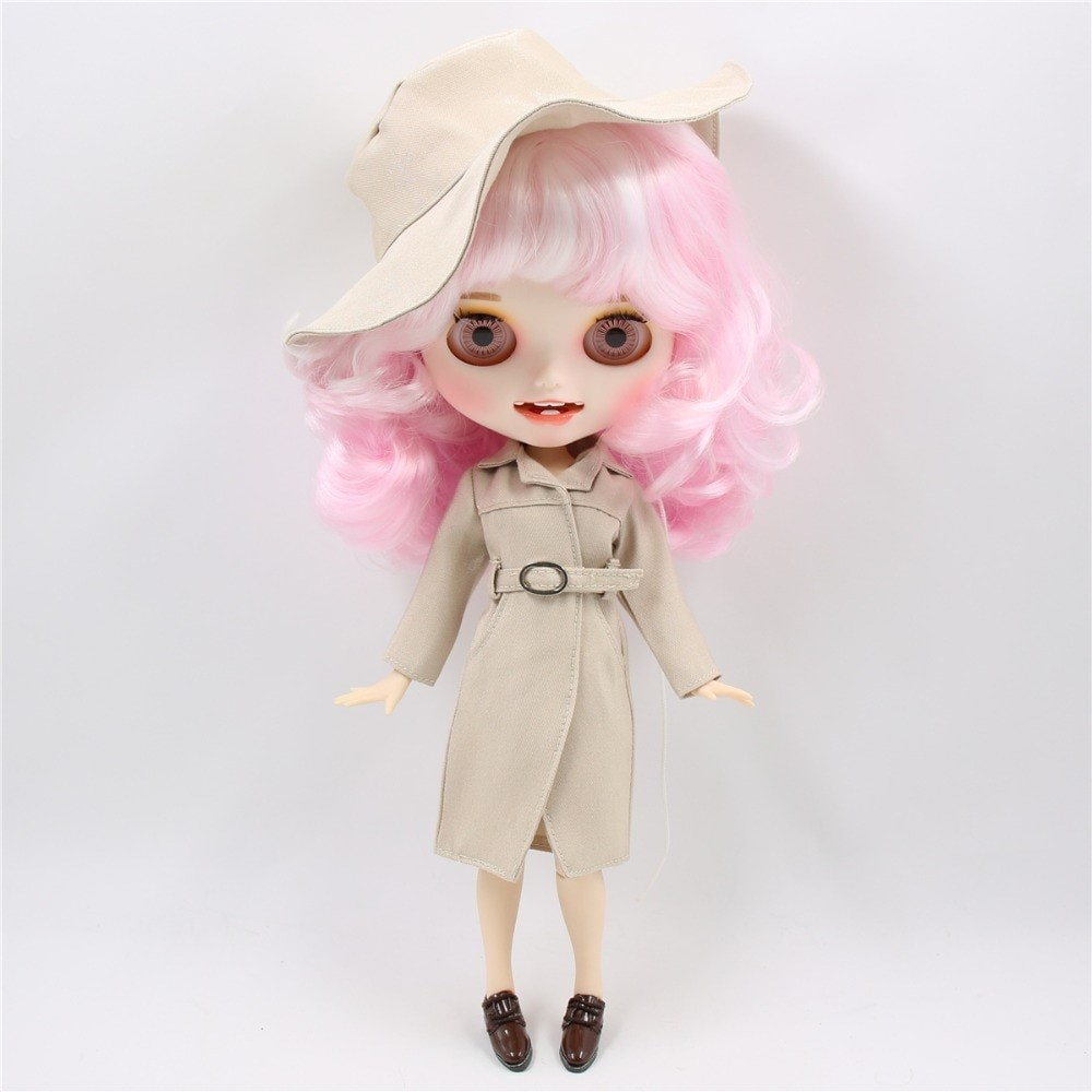 Ziarre - Premium Custom Blythe Doll with Clothes Smiling Face Premium Blythe Dolls 🆕 Smiling Face