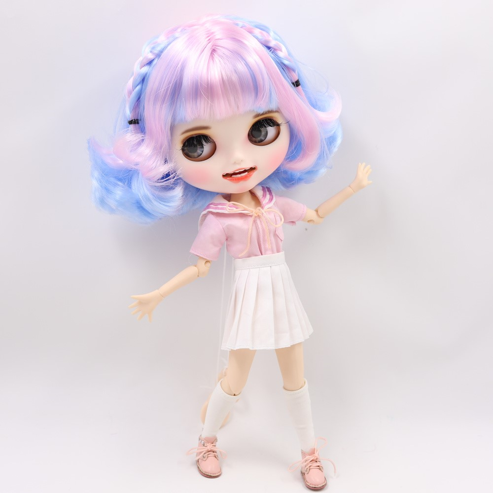 Camryn - Premium Custom Blythe Doll with Clothes Smiling Face Premium Blythe Dolls 🆕 Smiling Face