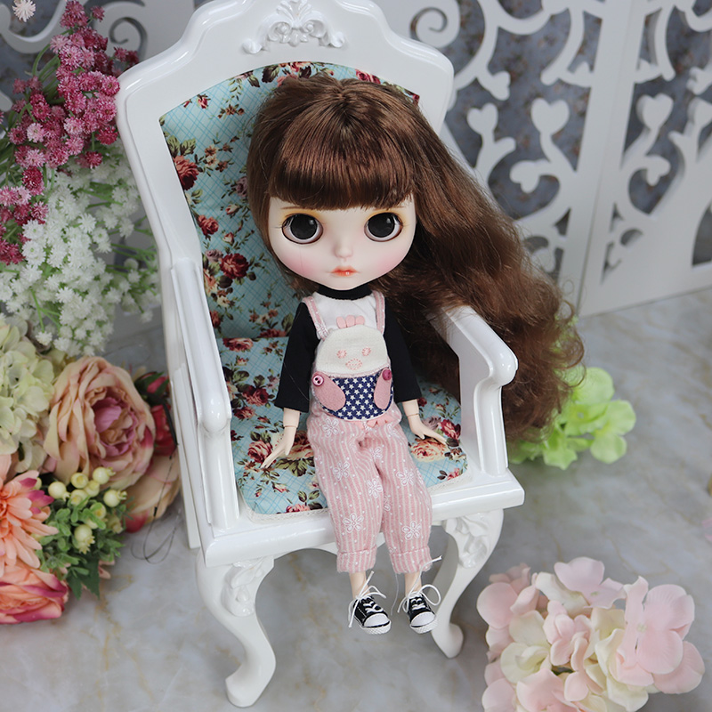 Jimena – Premium Custom Blythe Doll with Full Outfit Pouty Face Pouty Face Premium Blythe Dolls 🆕