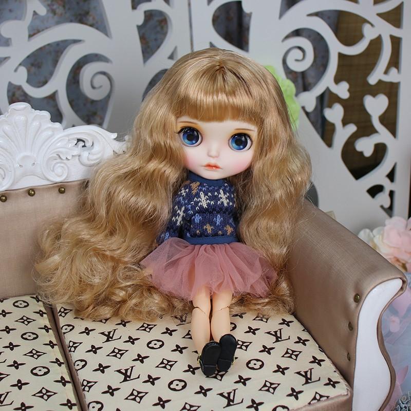 Kylee – Premium Custom Blythe Doll with Full Outfit Cute Face Cute Face Premium Blythe Dolls 🆕