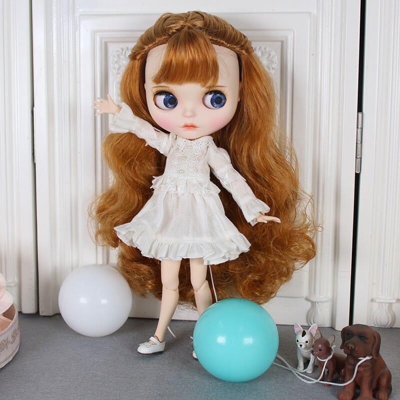 Lilith – Premium Custom Blythe Doll with Full Outfit Cute Face Cute Face Premium Blythe Dolls 🆕