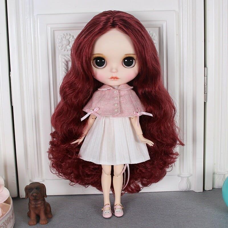 Savanna – Premium Custom Blythe Doll with Full Outfit Cute Face Cute Face Premium Blythe Dolls 🆕