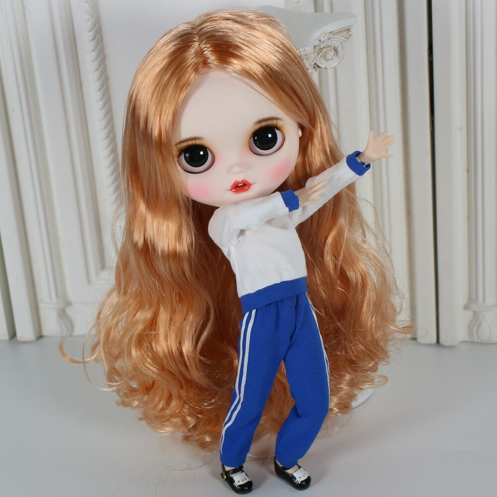 Laurel - Premium Custom Blythe Doll with Clothes Smiling Face Premium Blythe Dolls 🆕 Smiling Face
