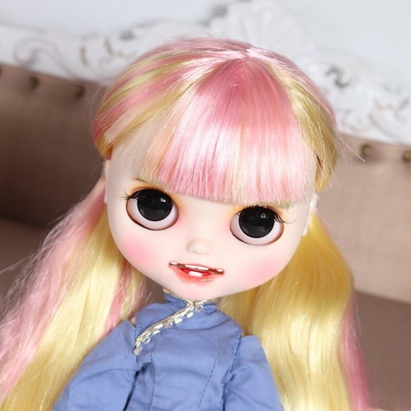 Kylie - Premium Custom Blythe Doll with Clothes Smiling Face Premium Blythe Dolls 🆕 Smiling Face