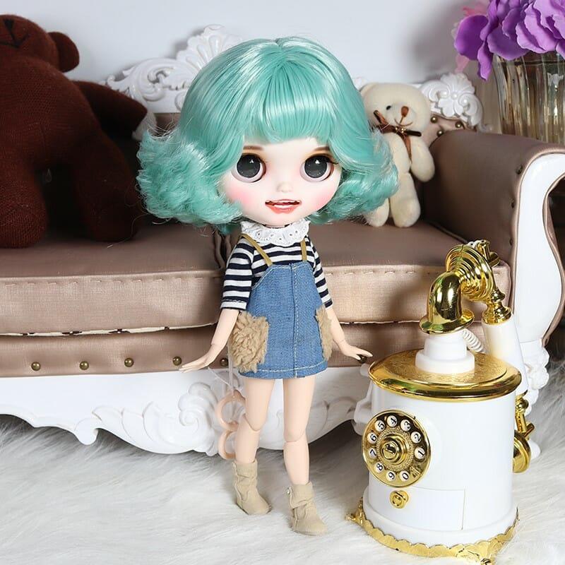 Margaret - Premium Custom Blythe Doll with Clothes Smiling Face Premium Blythe Dolls 🆕 Smiling Face