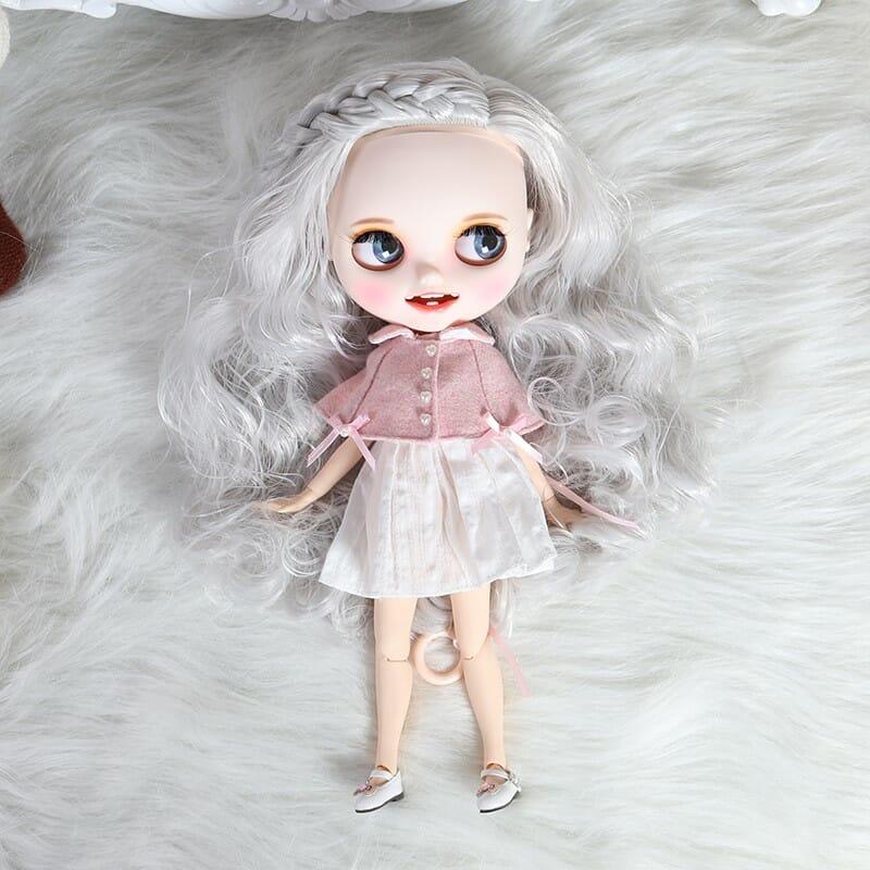 Khloe - Premium Custom Blythe Doll with Clothes Smiling Face Premium Blythe Dolls 🆕 Smiling Face