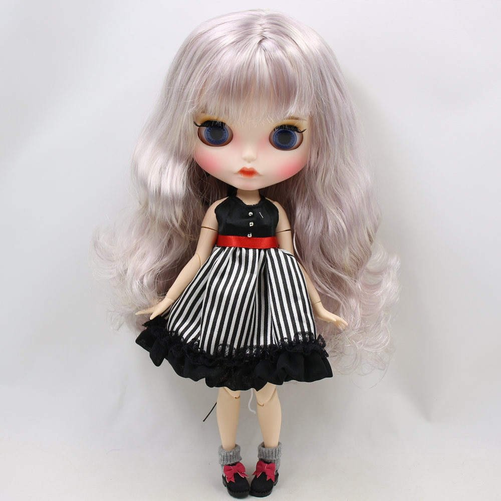 Imani – Premium Custom Blythe Doll with Pouty Face 1