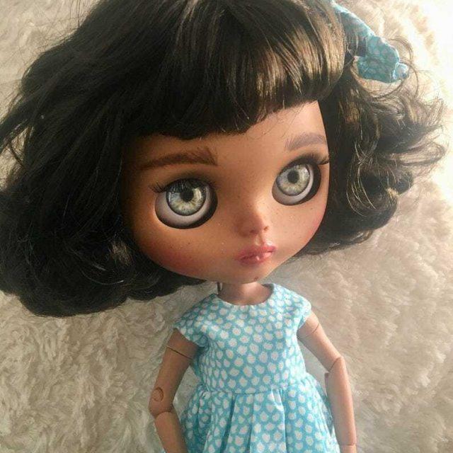 Dora – Custom Blythe Doll One-Of-A-Kind OOAK