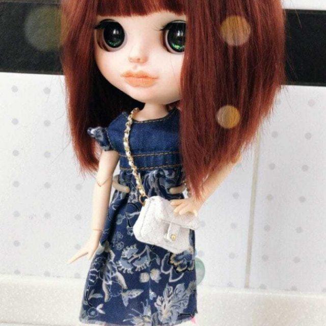 Whitley – Custom Blythe Doll One-Of-A-Kind OOAK