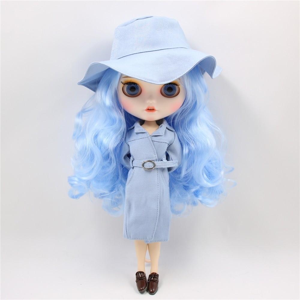 Zelene - Premium Custom Blythe Doll with Clothes Smiling Face Premium Blythe Dolls 🆕 Smiling Face