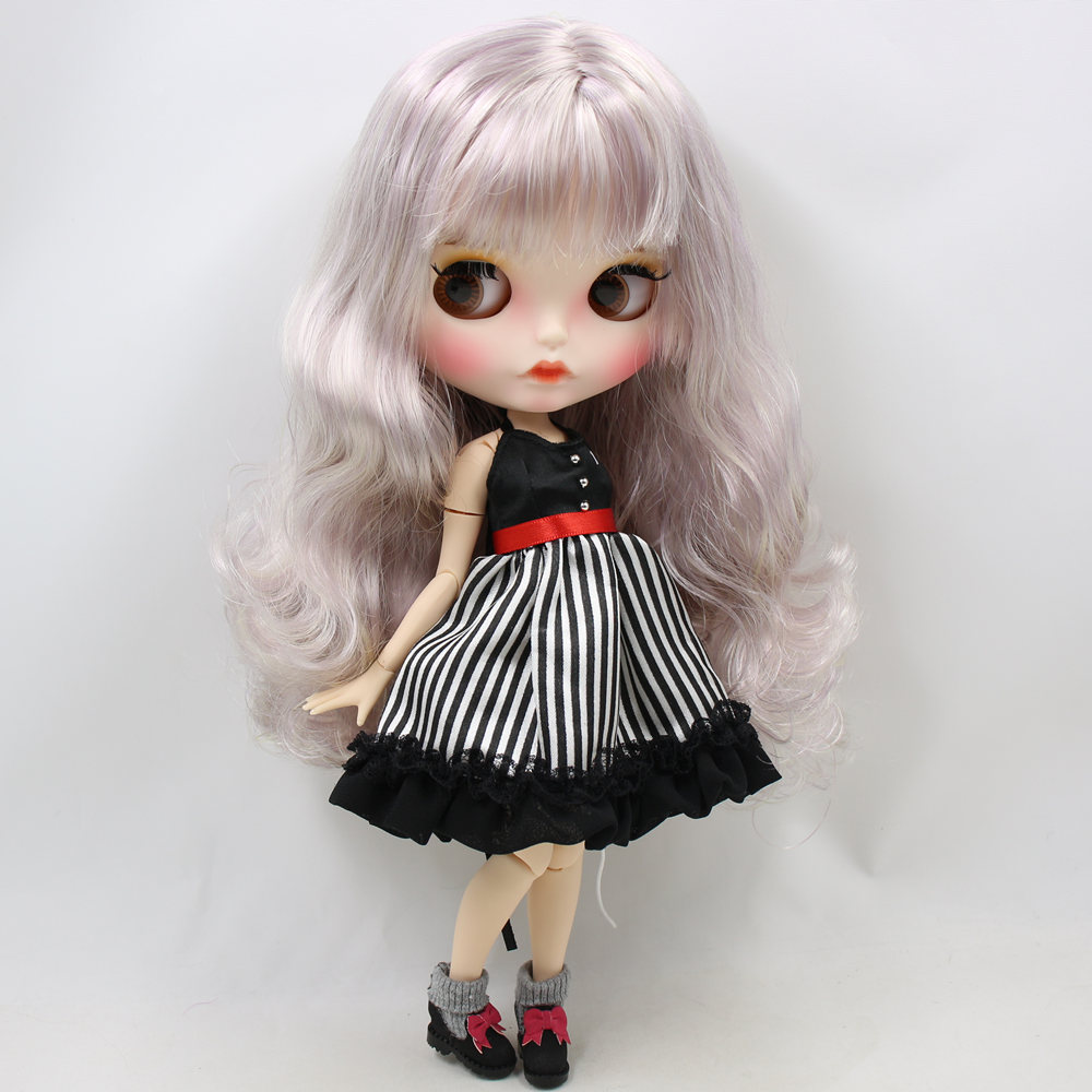 Imani – Premium Custom Blythe Doll with Pouty Face 2