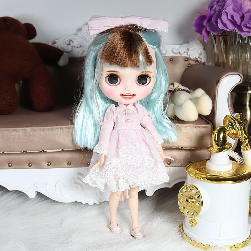 Mary - Premium Custom Blythe Doll with Clothes Smiling Face Premium Blythe Dolls 🆕 Smiling Face