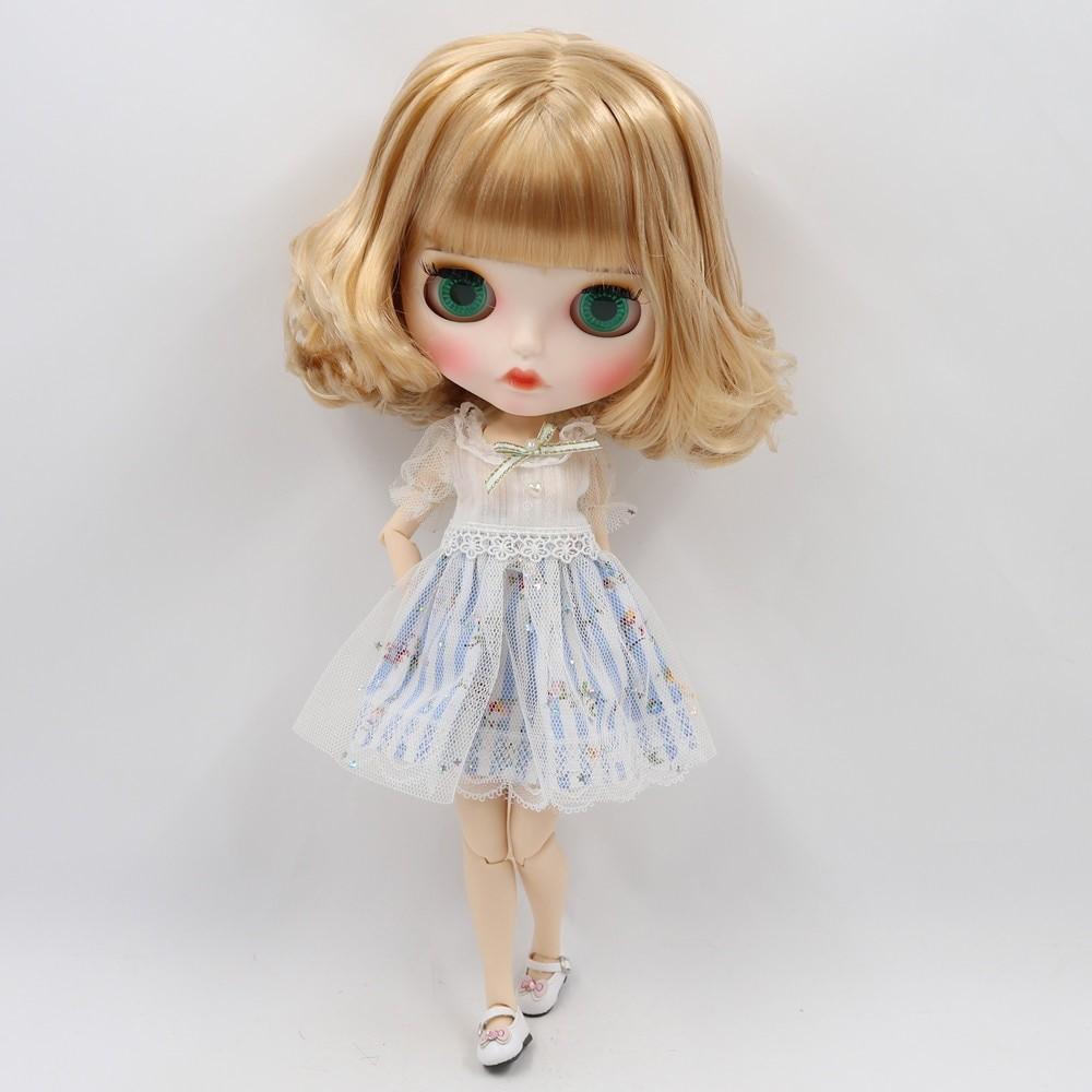 Magnolia – Premium Custom Blythe Doll with Full Outfit Pouty Face Pouty Face Premium Blythe Dolls 🆕